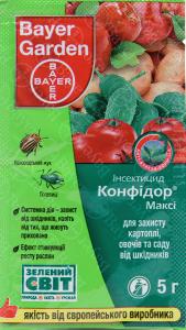 Инсектицид Конфидор Макси 5г, Bayer