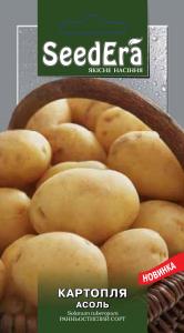 Семена картофеля Ассоль, 0,02 г (≈40 сем.), Seedera