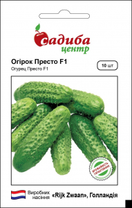 Огурец Престо F1, 10 шт, Садыба Центр
