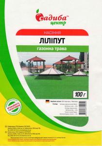 Газонна трава Ліліпут, 100 г, Euro Grass