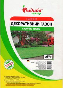 Газона трава Декоративна, 100 г, Euro Grass