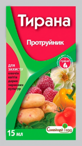 Протруйник Тирана к.с. 15 мл, Сімейний Сад